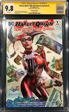 Harley Quinn 25th Anniversary Special #1 CGC 9.8 Greg Horn SIGNED Comic Joker