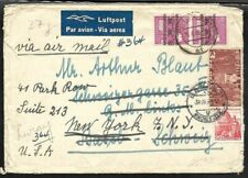 Germany / Switzerland 1948 Redirected Combo Cover Berlin to Usa via Basel