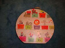 Janod ABC alphabet animal train floor puzzle Preschool Kindergarten