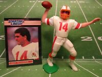 1989 VINNY TESTAVERDE - Starting Lineup Football Figure & Card - TAMPA BAY