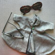 Vintage 1940s 1950s New Look Designer Dolman Sleeve Style Swing Coat Hand Made