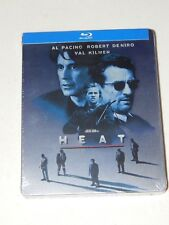 Heat Blu Ray Metalpak Steelbook Al Pacino Robert Deniro Michael Mann