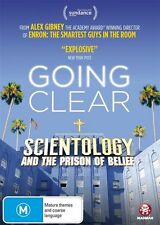 Going Clear: Scientology and the Prison of Belief NEW R4 DVD