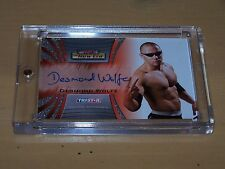 TNA 2010 The New Era Trading Card by Tristar - Desmond Wolfe Autograph - A10