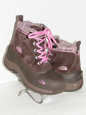 THE NORTH FACE Chilkats Brown Waterproof Insulated Hiking Winter Boots SZ 5