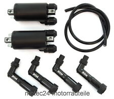 BOBINE di accensione Set HONDA CB 650/GL 1100 ORO Wing IGNITION COIL Set