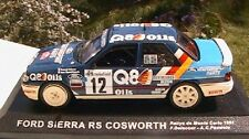 FORD SIERRA RS COSWORTH #12 RALLY MONTE CARLO 1991 DELECOUR PAUWELS 1/43 Q8 OILS