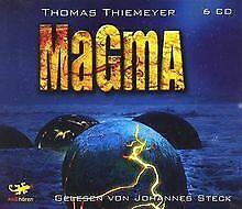 Magma. 6 CDs: Wissenschaftsthriller von Thiemeyer... | Buch | Zustand akzeptabel