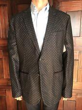 ab20cdd6ab9863 Ted Baker London Mens Dark Gray Sportscoat Size 7 New  595