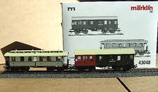 Märklin 43048 - Set mit 2 Personenwagen. #NEU in OVP#