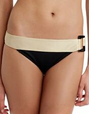 Freya Swim Supernova Retrò SLIP BIKINI oro nero taglia XS as9535bbk swim bottom