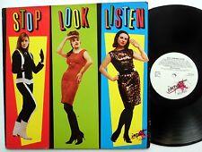 STOP LOOK LISTEN LP 1960's Girl group pop rock compilation