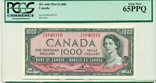 1954 $1000 PCGS 65PPQ BC-44d