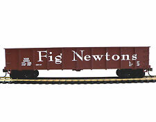 HO SCALE MODEL RAILROAD TRAINS LAYOUT FIG NEWTONS GONDOLA CAR MANTUA 730001