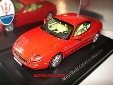 IXO MOC027 MASERATI coupé CAMBIOCORSA Rosso per il 1/43°