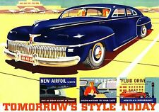 MAGNET Automobile Advertisement Photo Magnet DE SOTO 1942