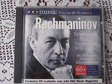 RACHMANINOV: SYMPHONY No 2 / BBC PHILHARMONIC/ EDWARD DOWNES - BBC CD (1994)