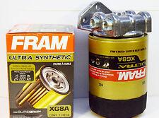 Toyota/Ford/Dodge/Import Remote Engine Oil Filter Mount~NO FRAM XG8A 4 PT/TURBO