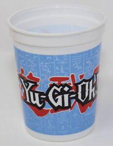 Vintage 90s Yu-Gi-Oh! Yami Yugi Hard Plastic Cup White 1996 Kazuki Takahashi WNA