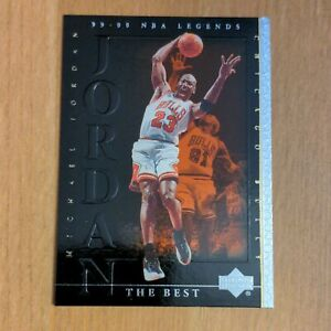 Michael Jordan 1999-00 Upper Deck Century NBA Legends The Best #86