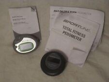2 pedometers Sportline ColorTrac Display & Eddie Bauer sport pedometer