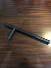 Black Foam Rubber Tonfa Martial Arts Police Baton Stick Training Gear
