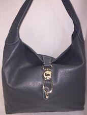 *Dooney & Bourke*GRAY*Logo Lock*Shoulder Bag & Key Fob* 17300K S230
