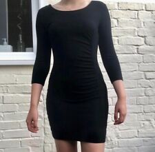 FRENCH CONNECTION Black Fitted Dress ~ Size 12