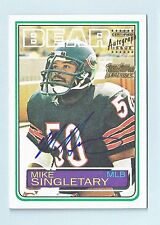 MIKE SINGLETARY 2001 TOPPS TEAM TOPPS LEGENDS AUTOGRAPH AUTO