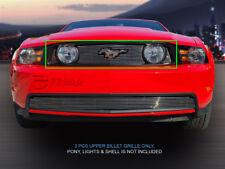 Fits 2010 2011 2012 Ford Mustang GT V8 Billet Grille Grill Upper Grill Inser