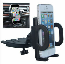 360° Car Holder CD Slot Mount Bracket For Nokia HTC LG Sony Huawei Cell Phone