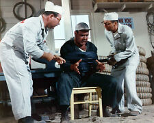 Jonathan Winters It's a Mad Mad Mad Mad World tied up in garage 8X10 Photo