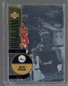 1996-97 Upper Deck Holojam Allen Iverson Rc #5