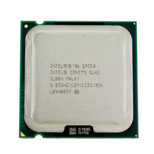 Intel Core 2 Quad Q9550  (12M Cache, 2.83 GHz, 1333 FSB) Socket 775