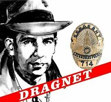DRAGNET - OLD TIME RADIO SHOW, (OTR  2) COMPLETE SERIES, MP3 on 2 DVD Disks