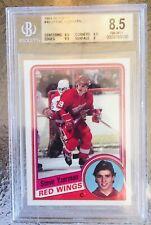1984-85 Topps Steve Yzerman Beckett Graded 8.5 Rookie Card !!!!!