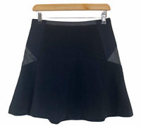 Portmans Womens Black Fit & Flare Short Lined Skirt Size 8 W27