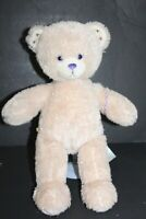 "Build a Bear Victoria Justice Sparkly Tinsel Teddy Bear 18"" BABW Tan Cream"