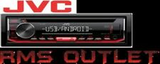 JVC KD-T402 - CD Receiver Front USB/AUX Input MP3 FLAC Android Car Radio