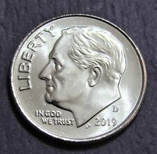 2019-D 10C Roosevelt Dime - Uncirculated from Mint Roll