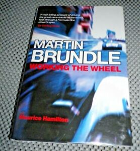 Working the Wheel by Martin Brundle Hardback Book VGC  ***SIGNED***