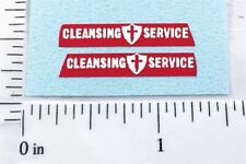 Matchbox Dennis Refuse Truck Replacement Stickers           MB-15C