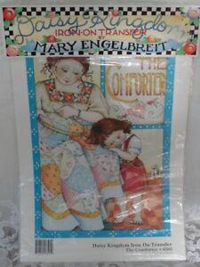 New Mary Engelbreit Iron on Transfer No Sew Daisy Kingdom The Comforter # 6505