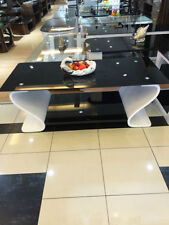 Wood Less than 60cm Modern Coffee Tables with Shelves