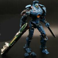"7"" NEC Pacific Rim Gipsy Danger Action Figure Hong Kong Brawl Robot Collection"