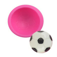 3D Football Silicone Cake Decorating Fondant Baking Mould DIY  SA