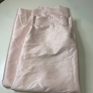 simply shabby chic polyester machine wash drapery pink curtain panel 39 x80