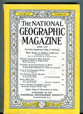 National Geographic Magazine June 1954 No Map VG 071216jhe