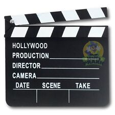 Hollywood Movie Clapper Board - Movie TV Theater Shooting Hollywood Director Cut