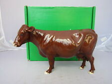 Beswick BOXED Rare Breed RED POLL COW  Only issued 2001-2002 Excellent